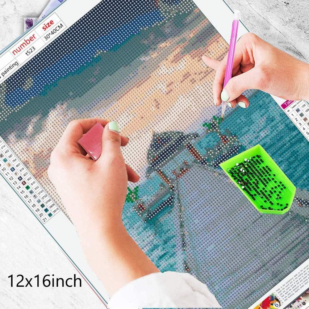 per decorazione da parete di casa bellissimo mare Kemladio kit per ricamo a punto croce con i numeri adulti e bambini kit fai da te per pittura con diamanti 5D