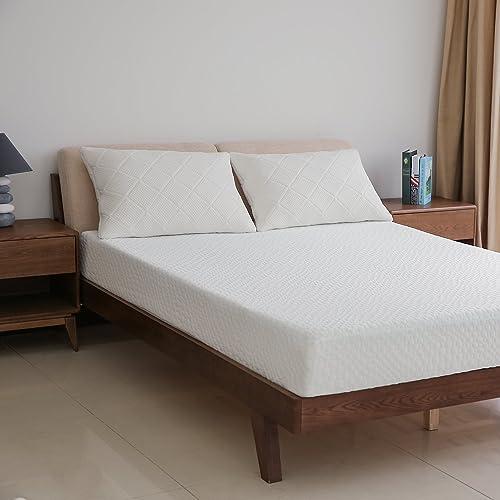 MEWE 8″ Gel Memory Foam Mattress Dual-Layered Bed Mattre