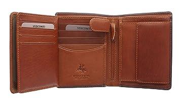 Visconti Torino Kollektion WALDORF, Brieftasche, pflanzlich