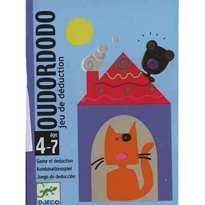 Djeco- Juegos de cartasJuegos de cartasDJECOCartas Oudordodo, (36): Juguetes y juegos