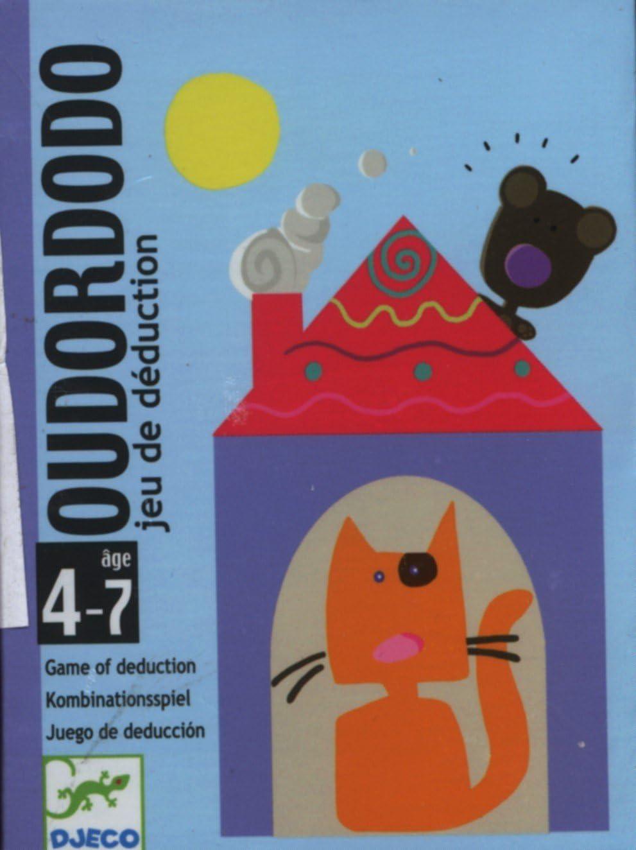 Djeco- Juegos de cartasJuegos de cartasDJECOCartas Oudordodo, Multicolor (36)