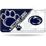 NCAA Penn State Nittany Lions Metal Auto Tag