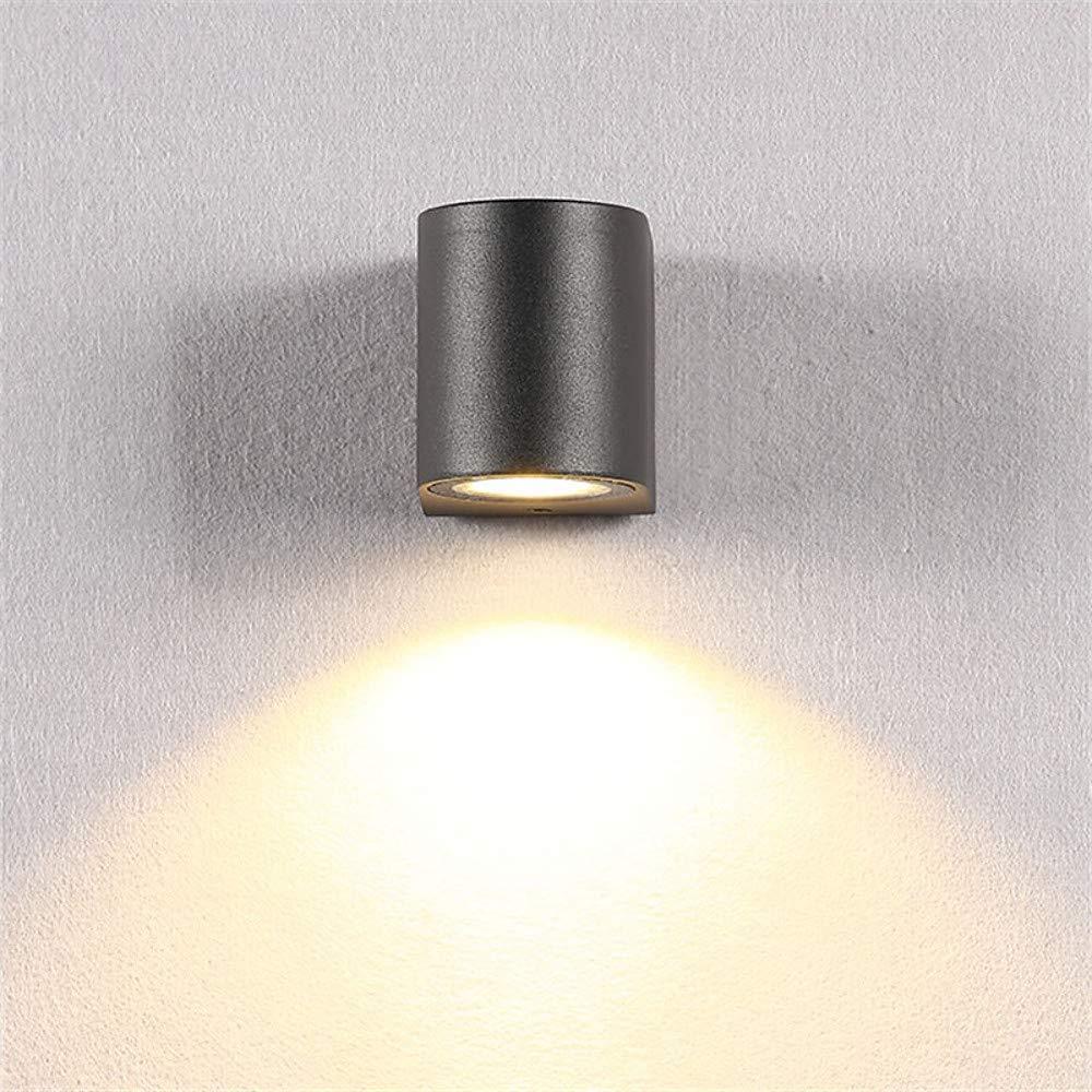 Mini Style LED Modern   Modern Wandleuchten & Wandlampen Indoor Outdoor Wandleuchte aus Metall, Warmweiß