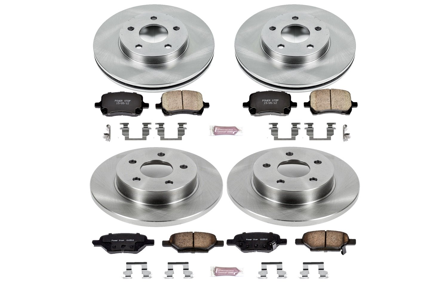1-Click OE Replacement Brake Kit Autospecialty KOE2729