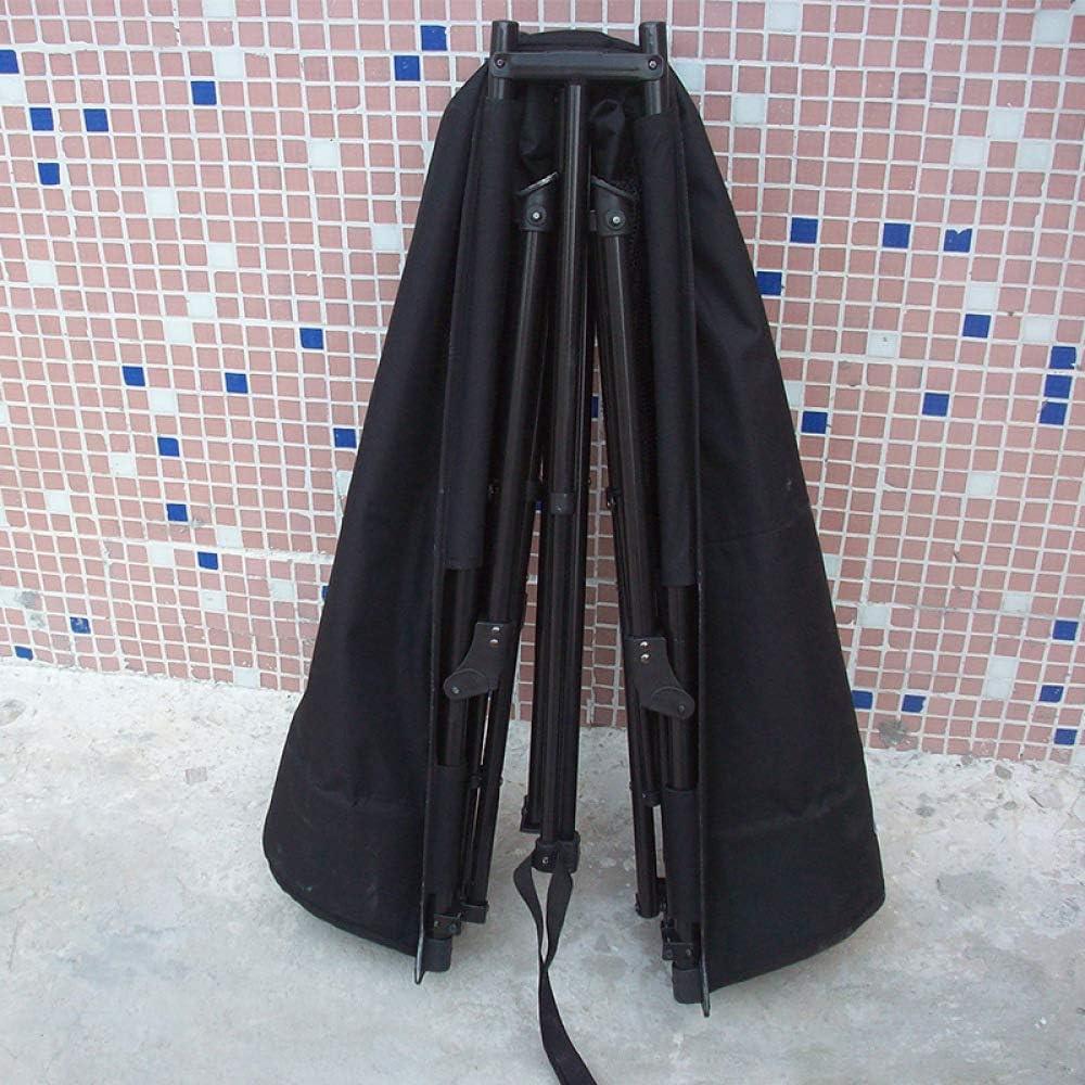 RNGNBKLS Brandina da Campeggio Letto da Campo Comoda Portatile Pieghevole capacità di Carico Fino A 120kg - Viaggi all'Aperto - Comoda - Robusta - Ferro Antiruggine,Black Black