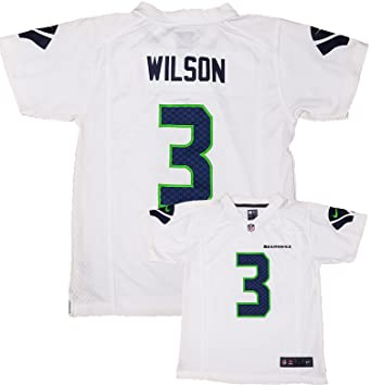 timeless design 9ffaa d79a2 Nike Russell Wilson Seattle Seahawks #3 Youth White Game Day Away Jersey