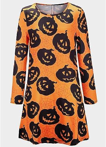 Sukienka Halloween damska sukienka z długim rękawem, minisukienka z kapturem, na zimę, jesień, luźna, na co dzień, na imprezę: Odzież