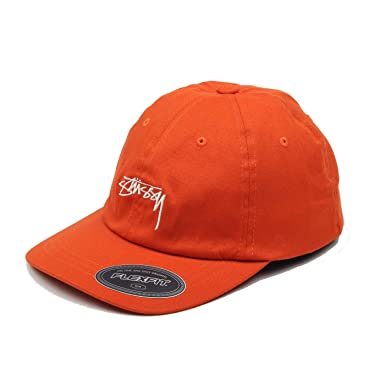 Stussy - Stock Fitted Low Cap - Orange: Amazon.es: Ropa y accesorios