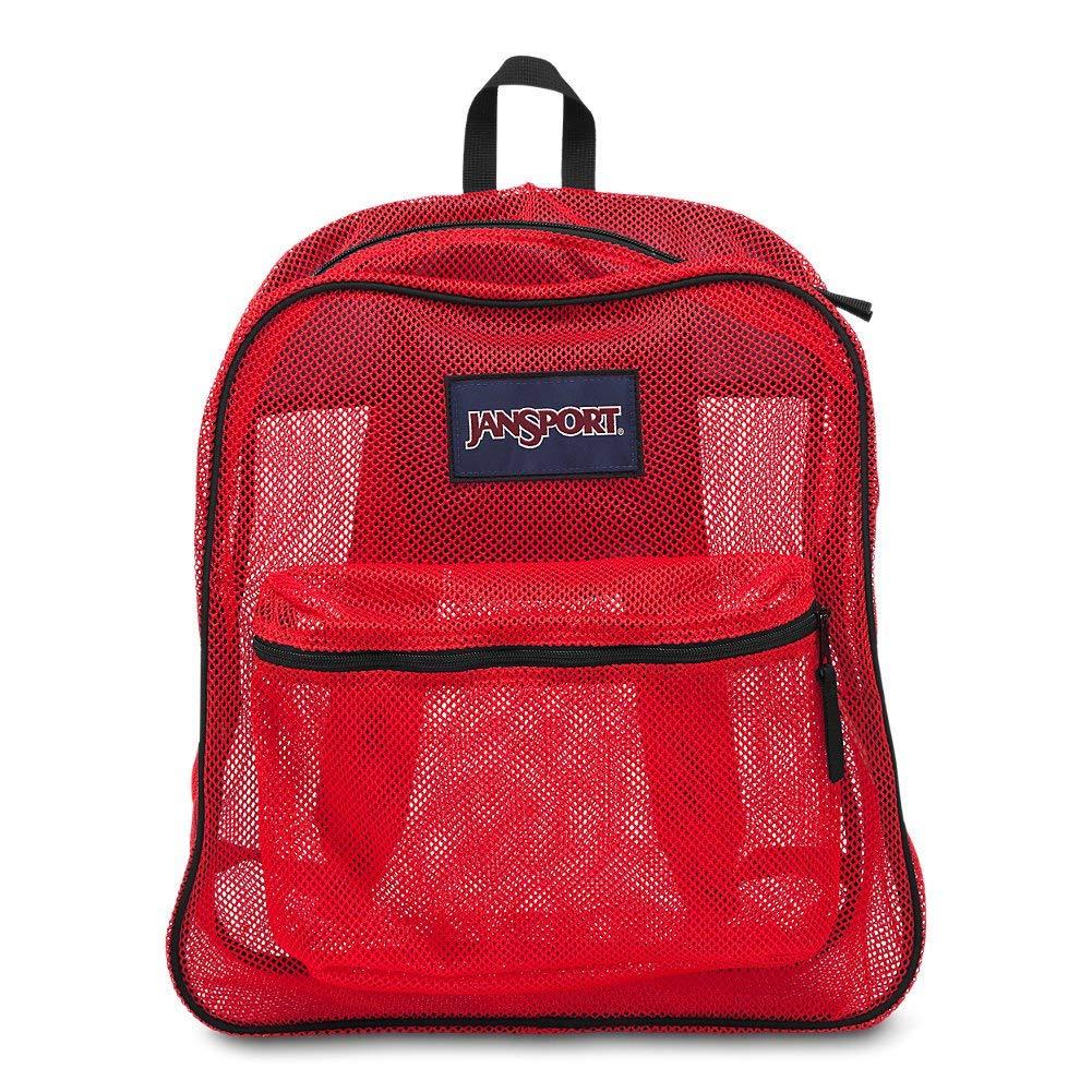 Jansport backpack MESH BACK HIGH RISK RED