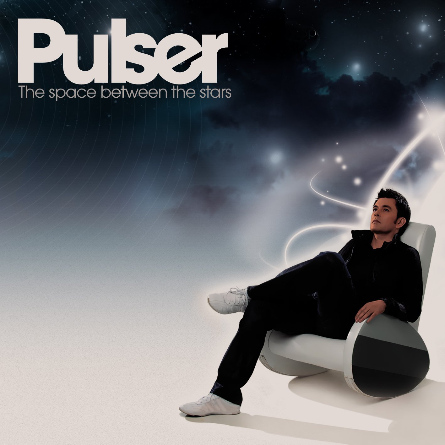 CD : Pulser - The Space Between The Stars (CD)