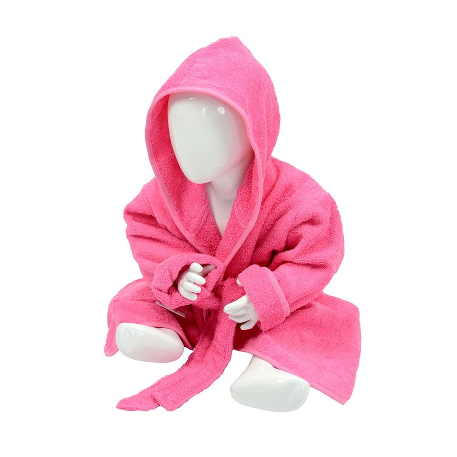 A& R Towels Baby/Toddler Babiezz Hooded Bathrobe