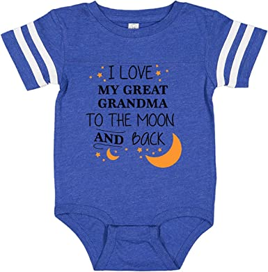 inktastic I Love My Mama to The Moon and Back Long Sleeve Creeper
