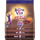 Cadbury Bournvita 5 Star Magic Pro-Health Chocolate Health Drink, 500 gm Refill Pack