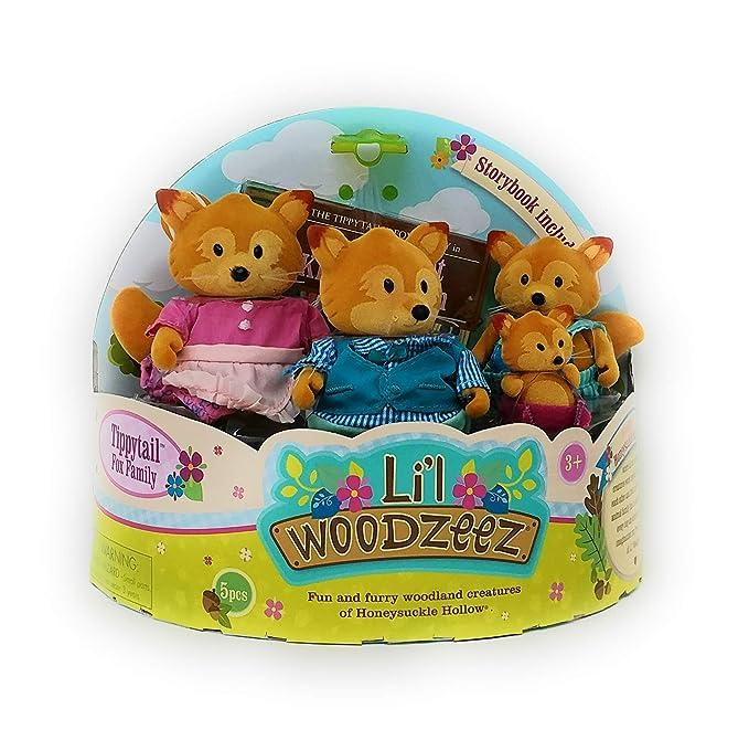 Amazon.com: Lil Woodzeez – La familia de zorros con ...