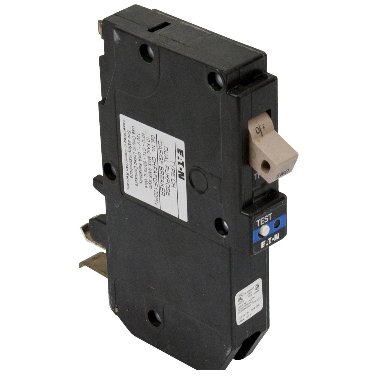 NEW Eaton//Cutler Hammer CHFCAF120  20A Type CH Combination AFCI Circuit Breaker