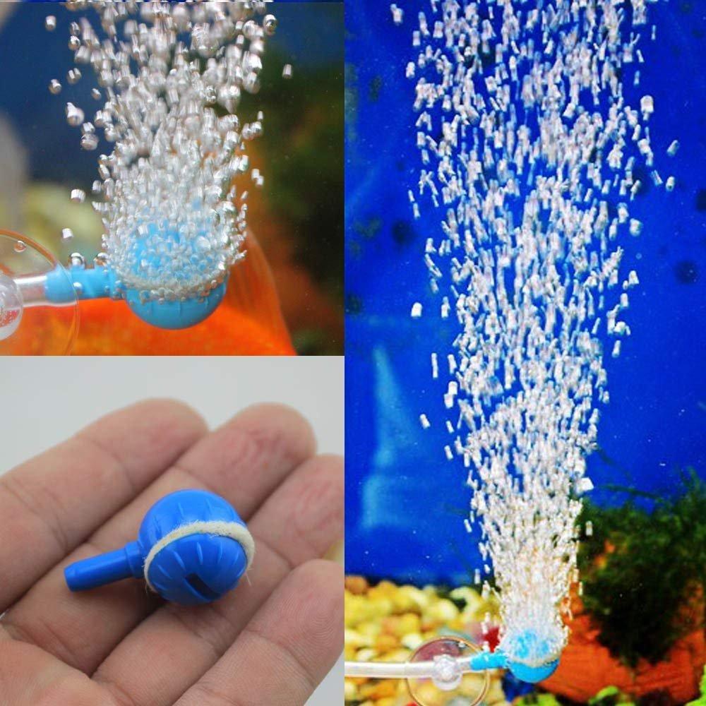 BeatlGem Air Bubble Increaser pour Aquarium Fish Tank Réglable Oxygène Augmentation Ball Air Pompe Accessoire Aquarium Appliance