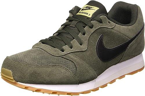 estoy enfermo Estado Mirar furtivamente  Nike Men's Md Runner 2 Suede Track & Field Shoes: Amazon.co.uk: Shoes & Bags