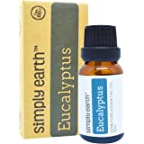 Eucalyptus Essential Oil by Simply Earth - 15 ml, 100% Pure Therapeutic Grade