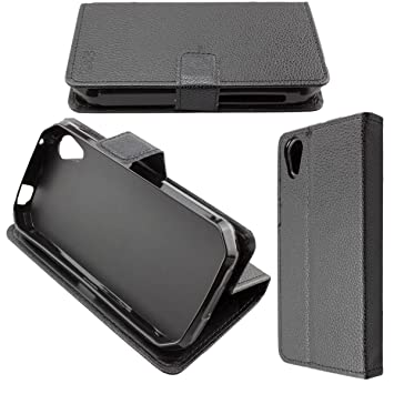 caseroxx Funda Tipo Libro para Cat S41, Carcasa con Flip para el Smartphone (Flip Case en Negro)