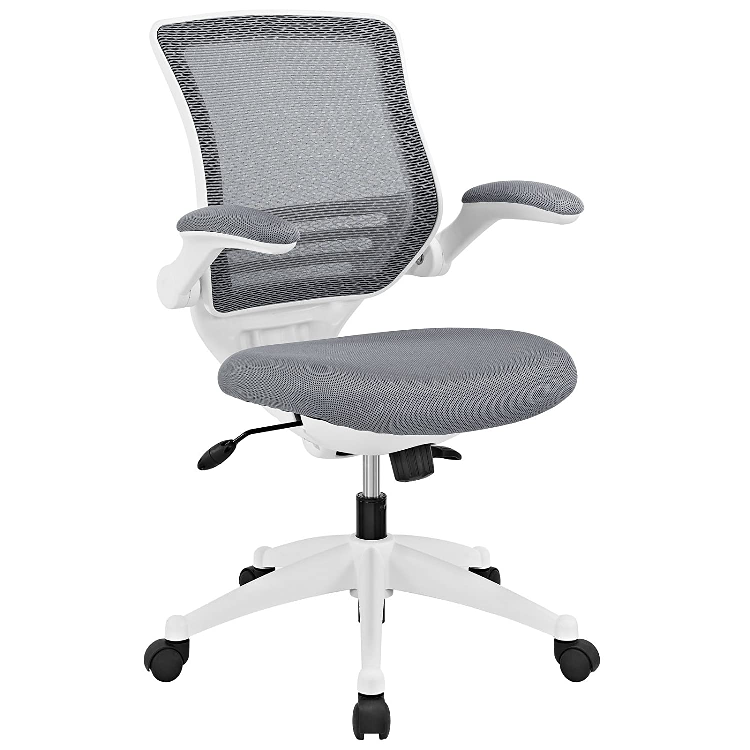 Amazon Modway Edge Mesh Back and Gray Mesh Seat fice Chair