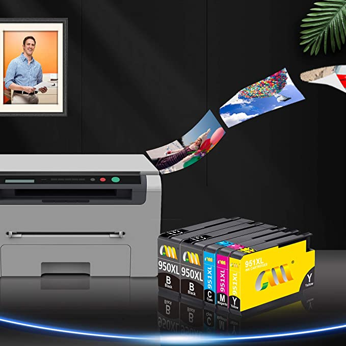 Reemplazo de cartucho de tinta compatible con CMCMCM para HP 950 ...