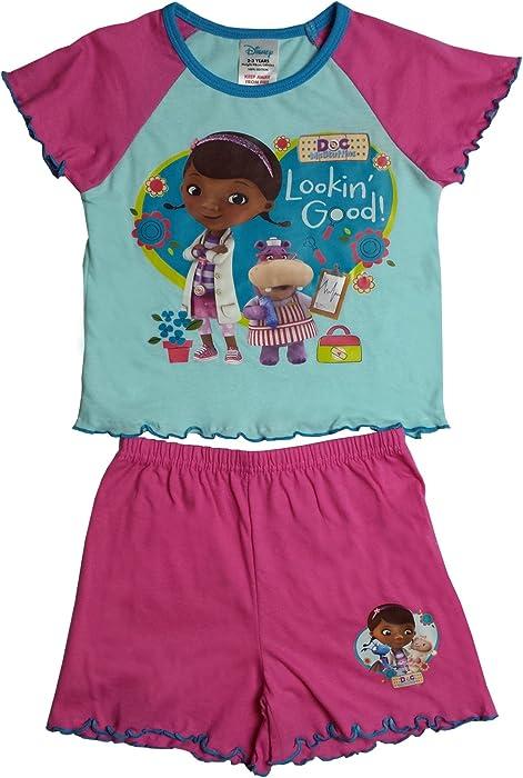 1801bca2f2 Disney Doc McStuffin Girls Shortie Pajama 4-5 Years  Amazon.ca ...