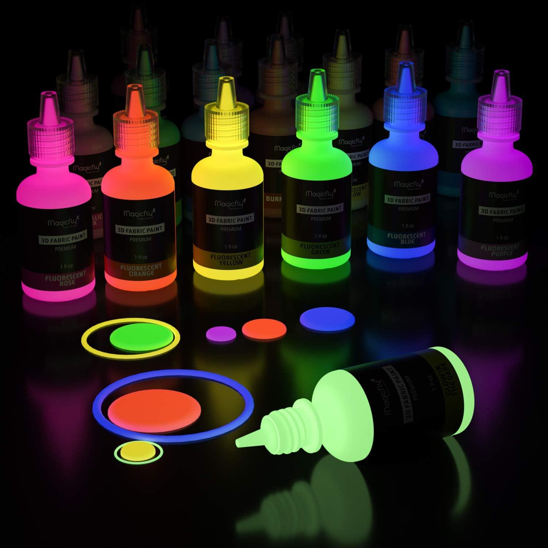 Magicfly - Pintura Textil Permanente Fluorescente ...
