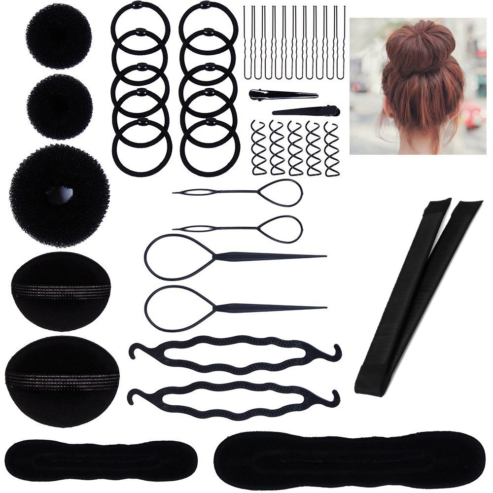 Hair Styling Accessory Design Styling Accessory Hairdress Kit Set Magic Simple Fast Braid Hair Braiding Tool Hair Making Kit Set for DIY Cozywind