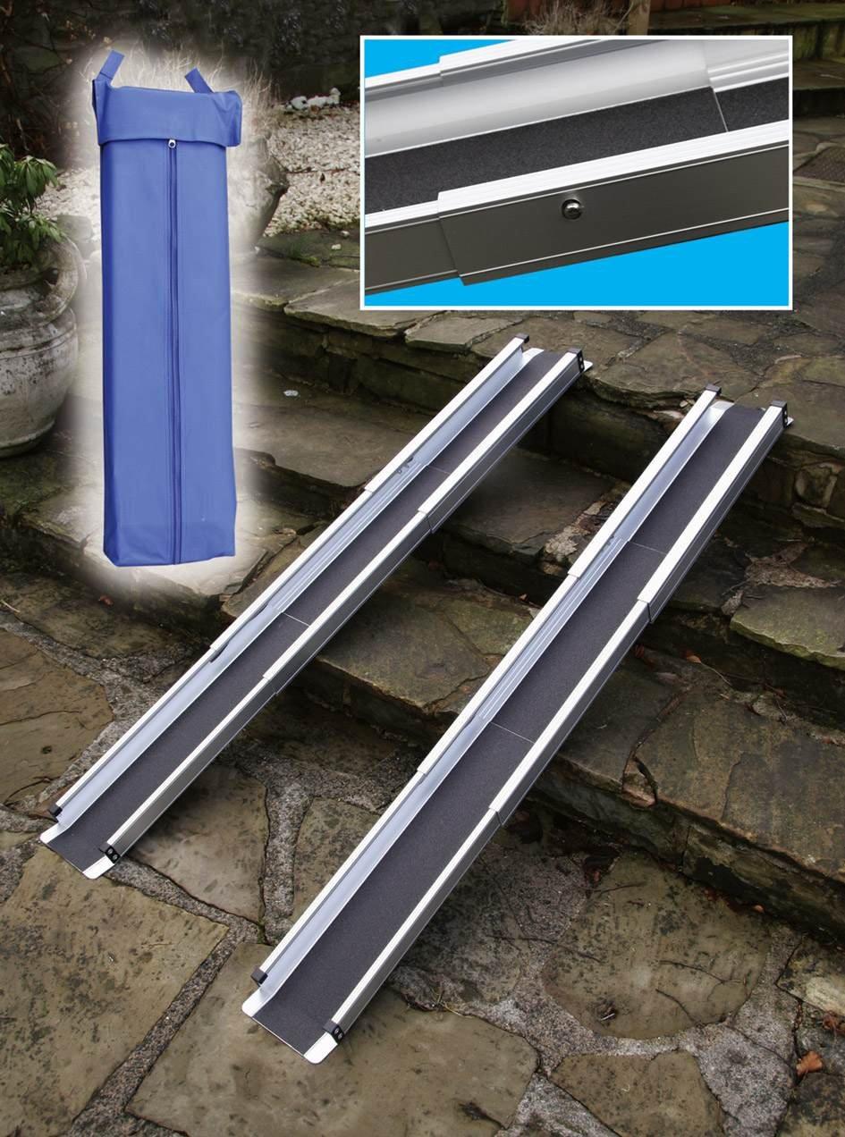 Able2 - Rampas telescópicas para silla con ruedas (: Amazon.es: Salud y cuidado personal