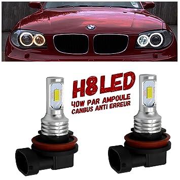 Angel E60 Led E93 E87 E92 X 5 E82 Ampoules Blanc Pour E64 E90 X6 E63 Eyes Z4 OwP08nk
