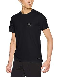 Salomon Agile SS Tee Men Black 2019 Laufshirt kurzarm schwarz