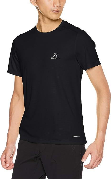 Salomon Men's Short Sleeved T shirt, STROLL SS TEE, Polyester