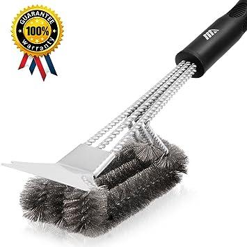 Amazoncom Adoric Life 360 Clean Grill Brush with Scraper