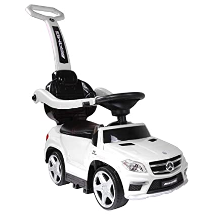 9a2dbfd6a Amazon.com  Best Ride On Cars 4-in-1 Mercedes Push Car