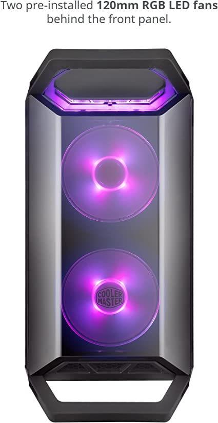 Cooler Master Master Box Q300p Midi Tower Black Computers Accessories