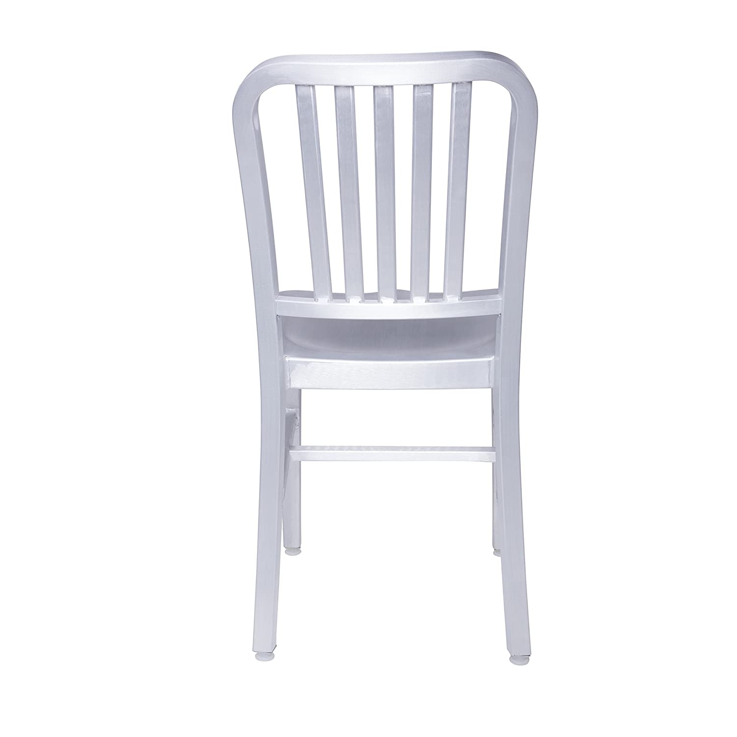 Amazon Euro Style Cafe Slat Back Side Chair in Matte