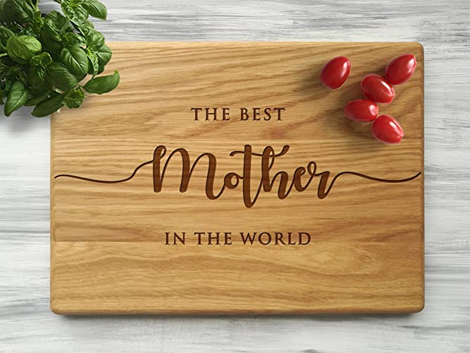 Attirant Custom Cutting Board Mom Kitchen Motheru0027s Day Gift Ideas For Mom Best Mom  Birthday Gifts For