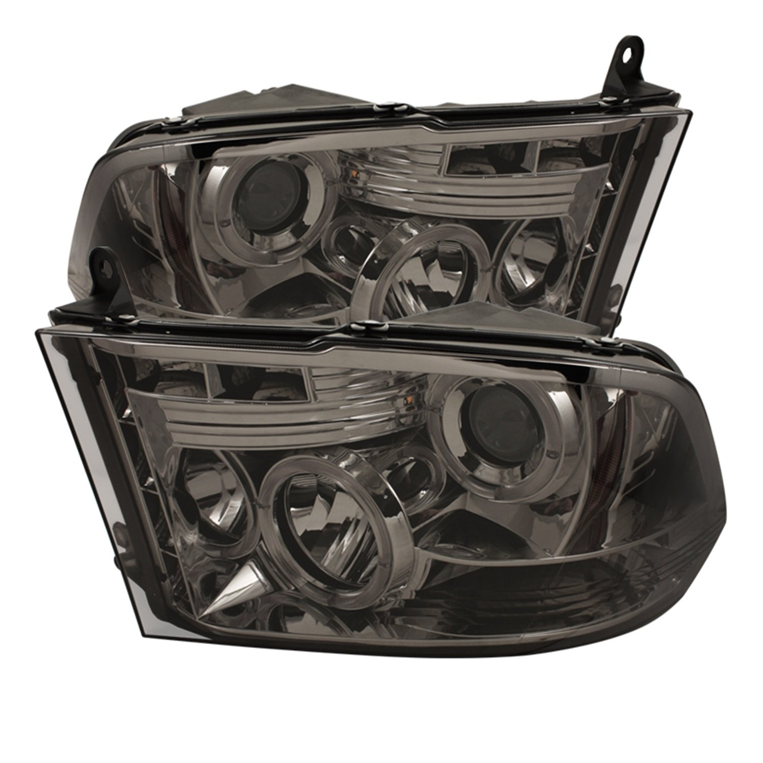 Amazon.com: Spyder Auto PRO-YD-DR09-HL-SM Smoke Halo LED Projection  Headlight: Automotive