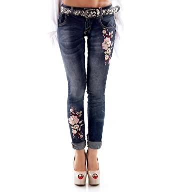 Designer jeans damen strass