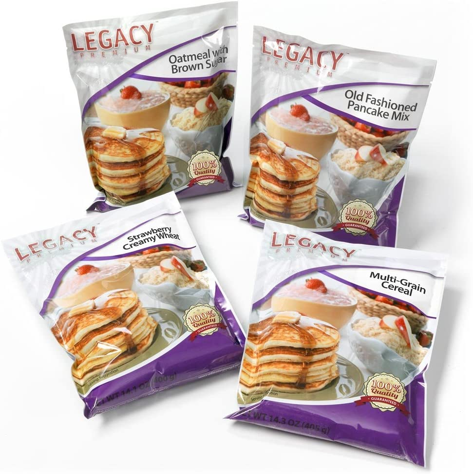 Amazon Com Emergency Food Storage Breakfast Samples 16 Large