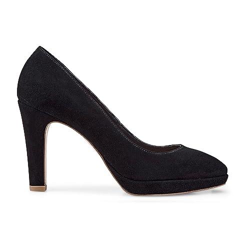 Damen Schuhe Pumps Pumps Schwarz Plateau Cox Damen