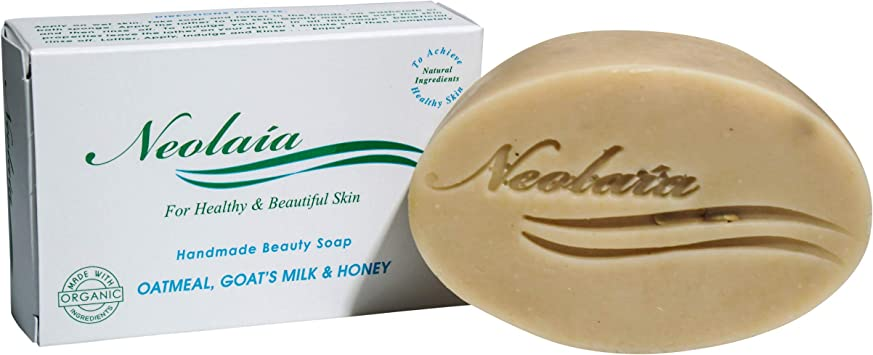 Jabón natural hecho a mano - Avena, leche de cabra y miel - Suaviza, limpia e hidrata la piel.: Amazon.es: Hogar