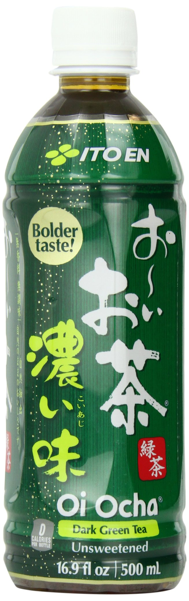 Ito En Oi Ocha Unsweetened Bold Green Tea, 16.9 Ounce (pack Of 12)