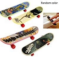 Random Color 5PCS Board Truck Anime Finger for Kids Durable Toy Gift Non-toxic Skateboard