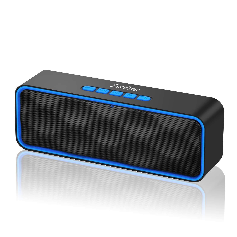 Portable Waterproof Wireless Bluetooth Speaker w// Dual 3W Drivers Built-in Mic