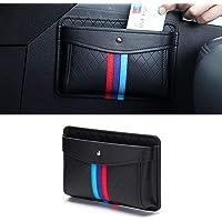 LZTQ Car Inner Organizers Bag Pocket Storage Box for BMW M Sport X5 e46 e70 e90 Series Interior Accessories Black Car…