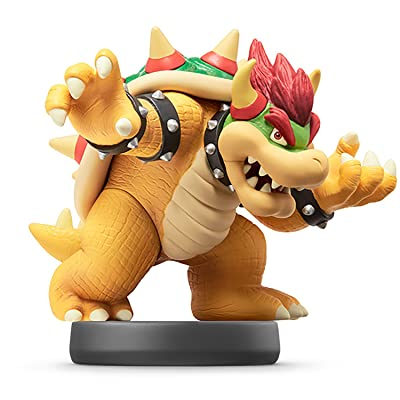 Nintendo Bowser Koopa amiibo - Japan Import - Super Smash Bros Series - Switch: Video Games