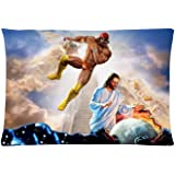love Girl Bedding Set Living Room Pillow Covers, Macho Man Randy Savage Jesus Pillow Cover 12 x 20 Inches