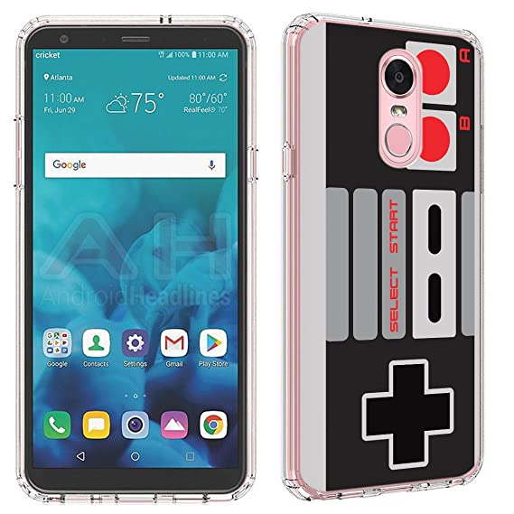 premium selection 06131 b77d4 LG Stylo 4 Case [NES Controller](Clear) PaletteShield Flexible Slim TPU  skin phone cover (fit LG Stylo 4/Q Stylus)