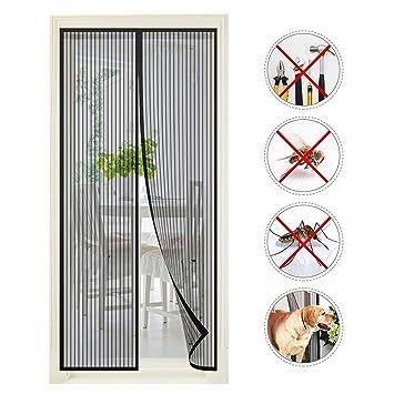Vitutech Doornet9 Moustiquaire Porte Magnétique Anti Insectes